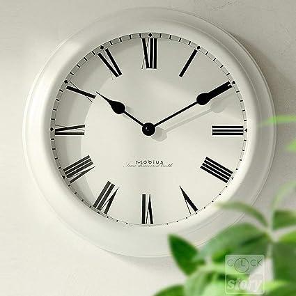 S&H Reloj de Pared DE 16 cm Pared clockdecorative Metal Grande Reloj Vintage Relojes de Cuarzo