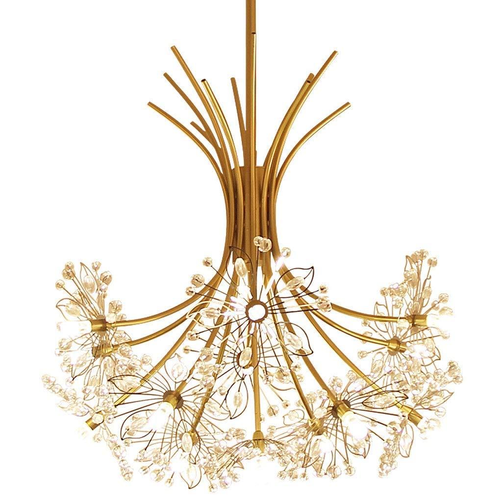 Nianle モダンな天井ランプ - レストランライトゴールドブーケペンダントライトLEDホームホテルエレガントな雰囲気ペンダントライトファッションクリエイティブベッドルームカフェ天井ライト (色 : 白色光) B07JDK1DSM 白色光
