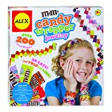 Alex Toys Do-It-Yourself Wear MandM'S Candy Wrapper Jewelry