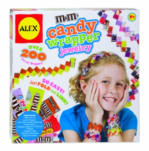 ALEX Toys Do-it-Yourself Wear M&M'S Candy Wrapper Jewelry