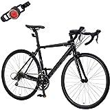 カノーバー(CANOVER) ロードバイク 自転車 16段変速 デュアルコントロールレバー Claris アルミフレーム CAR-011 ZENOS