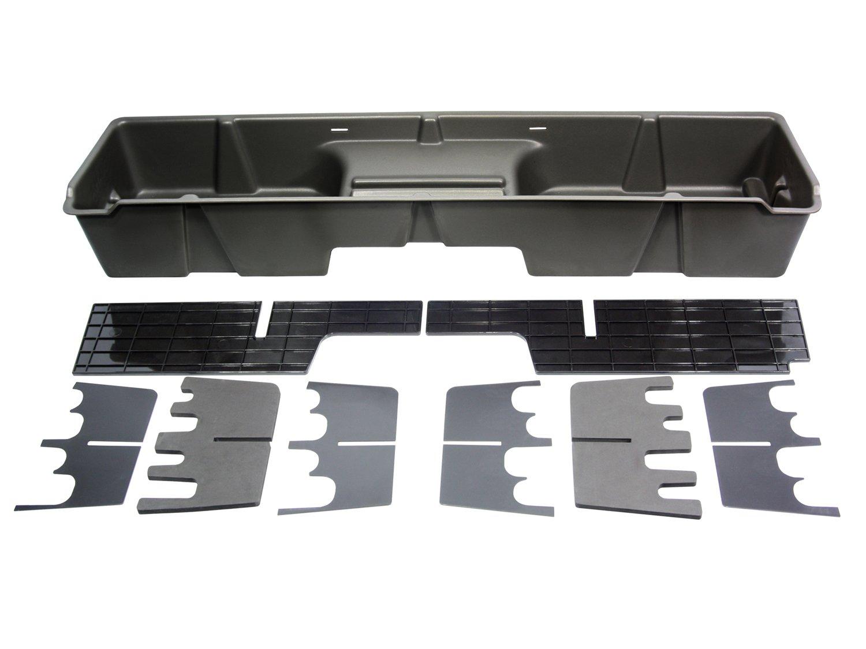 DU-HA Under Seat Storage Fits 99-07 Chevrolet/GMC Silverado/Sierra Extended Cab, Dk Gray, Part #10001 by DU-HA