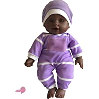 """The New York Doll Collection 11 inch Soft Body Doll in Gift Box - Award Winner & Toy 11"""" Baby Doll (African American)"""