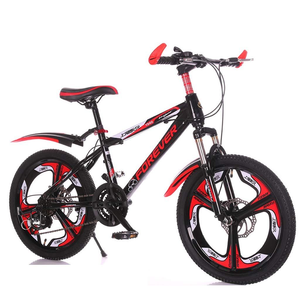 早い者勝ち 子供用自転車 アウトドアマウンテンバイク 男の子と女の子のサイクリング 子供用屋外外出用自転車 inches 子供用屋外自転車610歳 (Color red, : Black red red, Size : 18 inches) 18 inches Black red B07PWX8R4K, トミヤマチ:f423e46f --- senas.4x4.lt