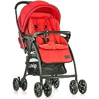 Luvlap Grand Baby Stroller (Red)
