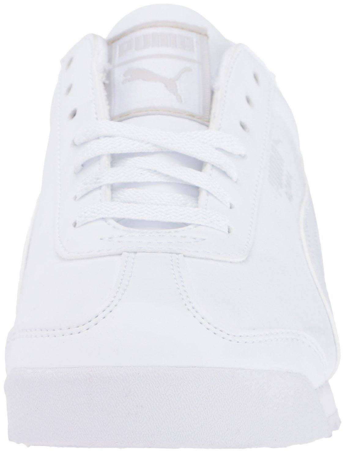 PUMA Roma Basic JR Sneaker , White/Light Gray, 3 M US Little Kid by PUMA (Image #4)