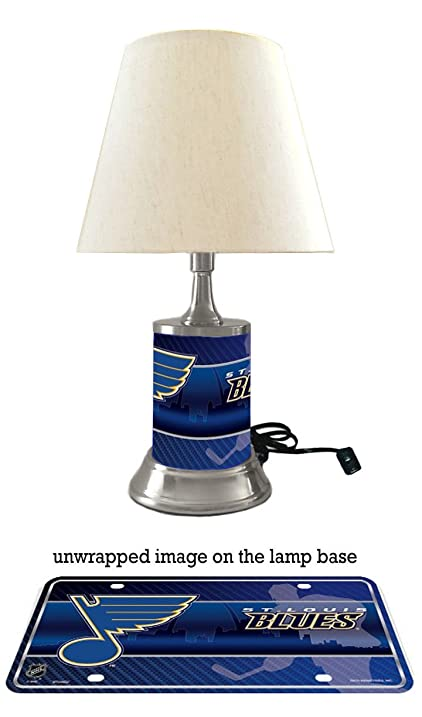 Amazon st louis blues lamp with shade sports outdoors st louis blues lamp with shade mozeypictures Choice Image