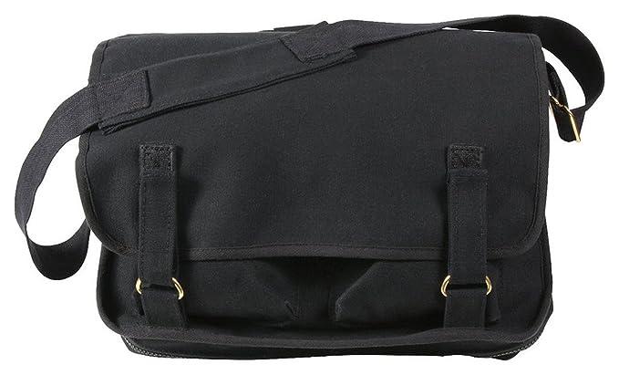57e6e0415d Amazon.com  Rothco Canvas European School Bag