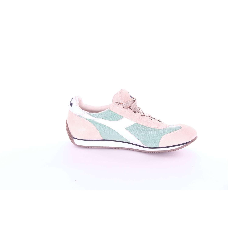 Diadora heritage sneakers nuovo equipe stone wash camoscio menta grigio tela  art.156988  Amazon.it  Scarpe e borse b3b06d788aa