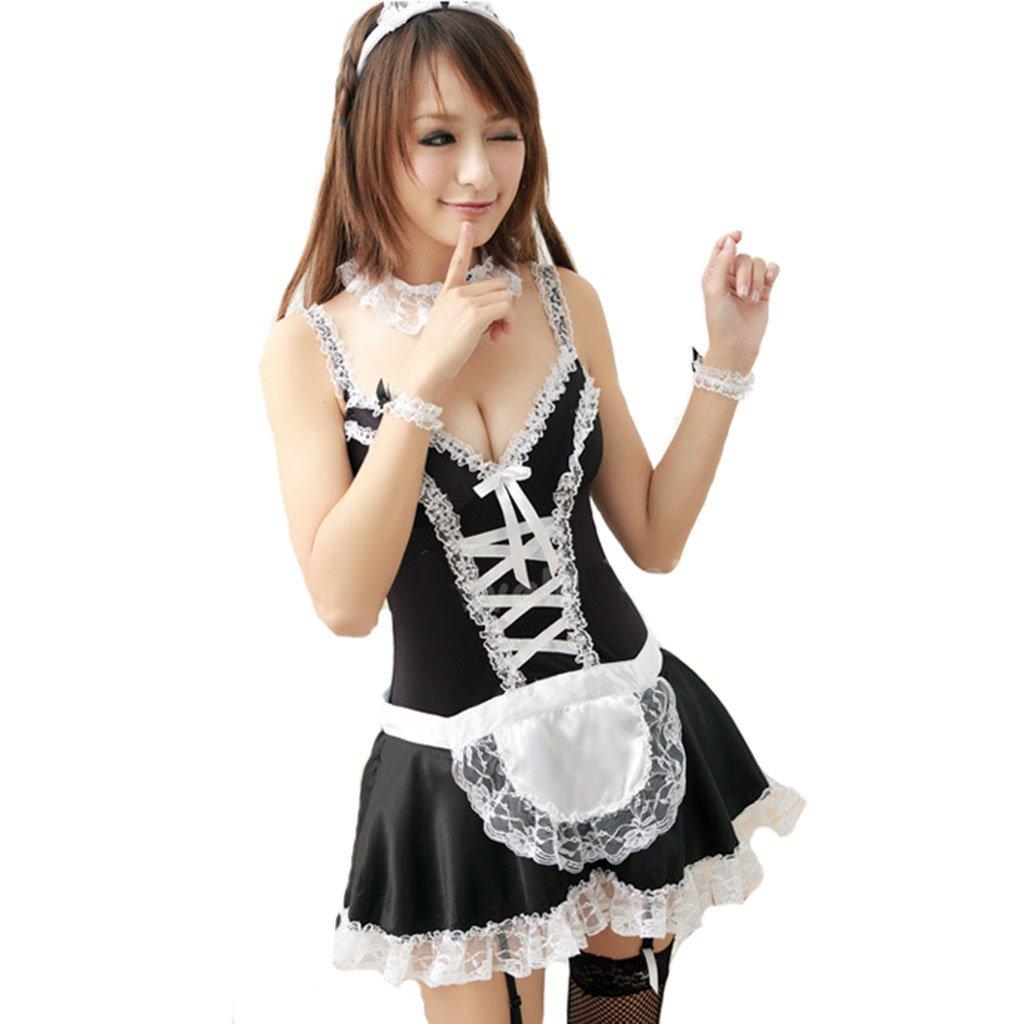 Ailin home- Tentación Sexy Maid Wear Home Maid Traje Sexy Uniforme ...