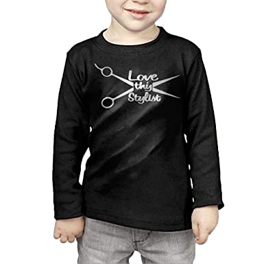 Amazon Long Sleeve T Shirt For Boys Girls Crew Neck Love