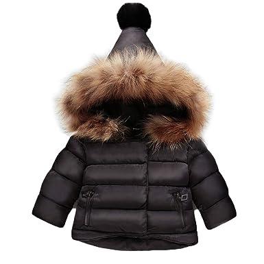 7c83c7b2b Amazon.com  Gaorui Baby Coat Boys Girls Winter Outerwear Warm Parka ...