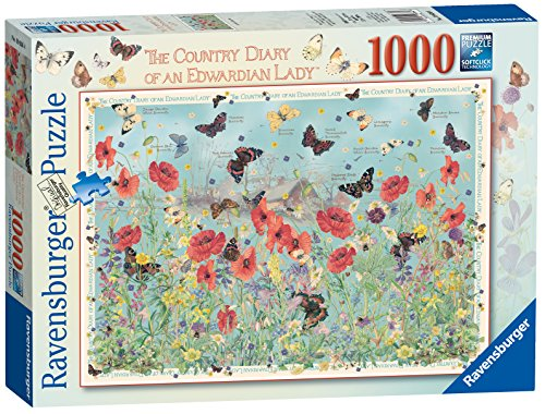 Ravensburger The Country Diary of an Edwardian Lady - Jewels of the Air (butterflies) 1000pc Puzzle