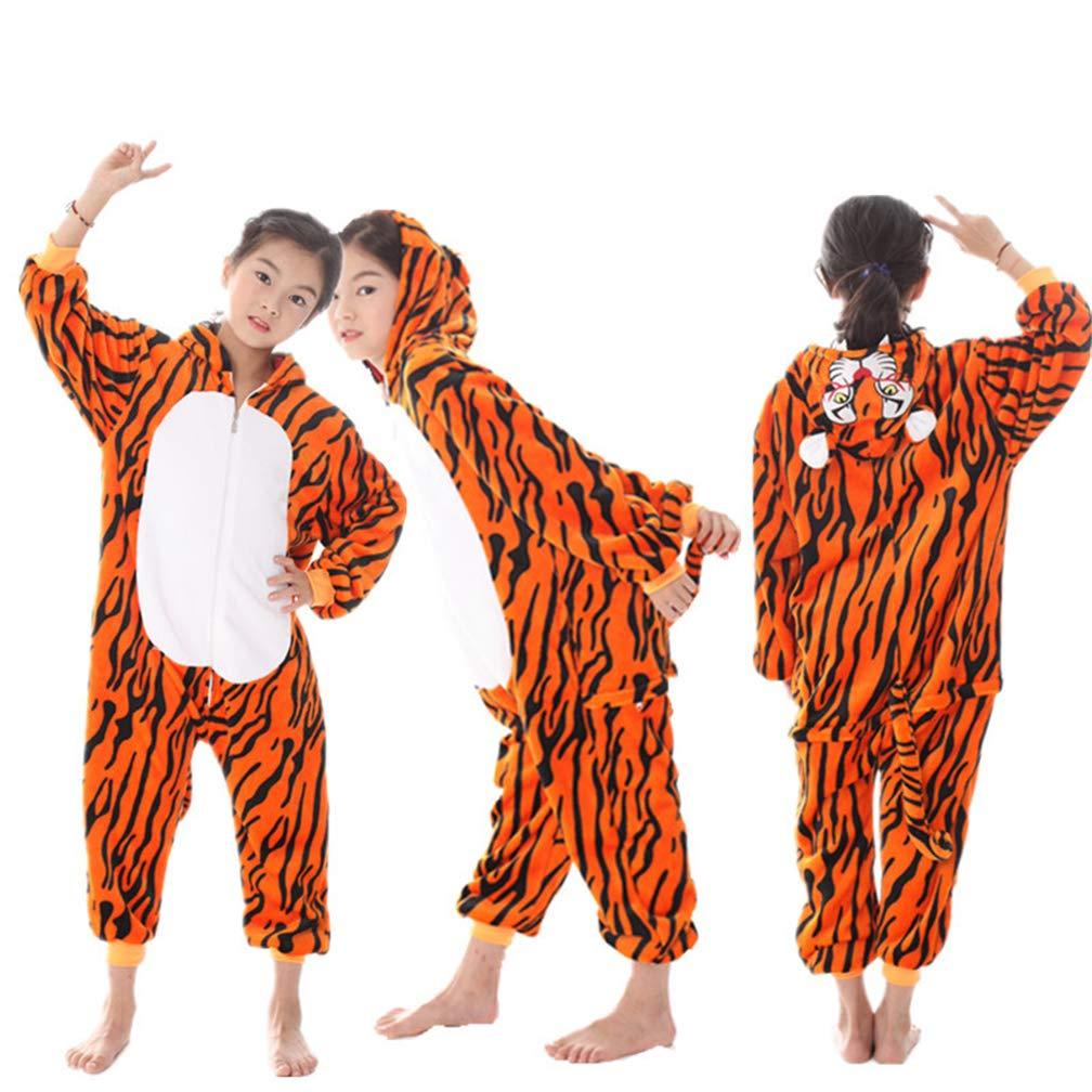 Kinder Jungen M/ädchen Schlafstrampler Onesie Einhorn Schlafoverall Jumpsuit Einteiler Schlafanzug Warm Weihnachtspyjama Fun-Nachtw/äsche