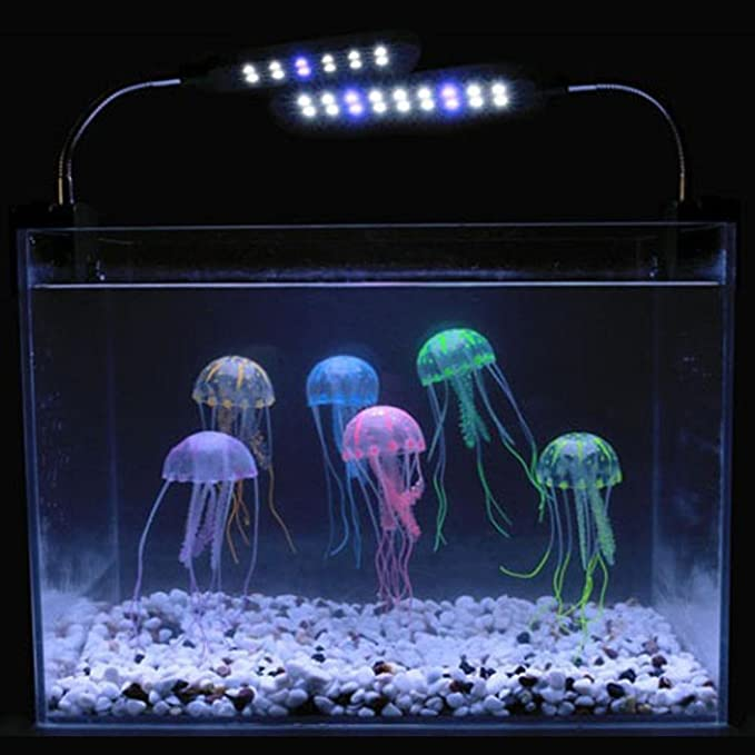 Amazon.com: Idomeo LED Fantasy Jellyfish Lamp for Home Decoration Magic Lamp for Gift Lamps: Home & Kitchen