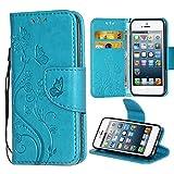 Best Case  I 5s - iPhone 5 SE Case,i-Dawn Premium Leather Wallet Flip Review