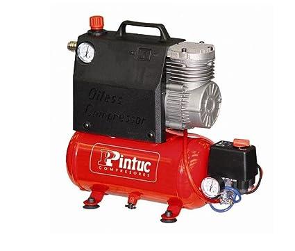 Pintuc; KOALA 1/2CV; Compresor de aire portátil, sin aceite, serie