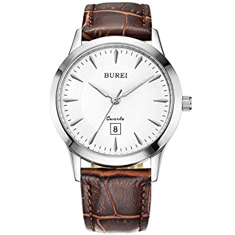 837c0bff75b2a Amazon.com  BUREI Men Women Watches Automatic Watch Classic Quartz ...