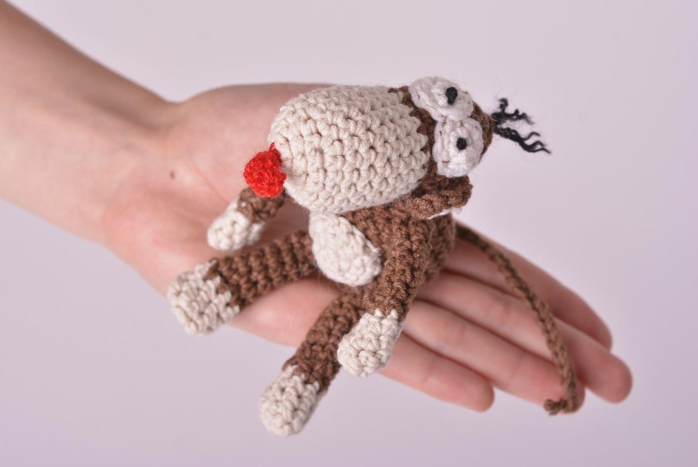 Peluche para ninos juguete hecho a mano tejido de algodon regalo original: Amazon.es: Juguetes y juegos