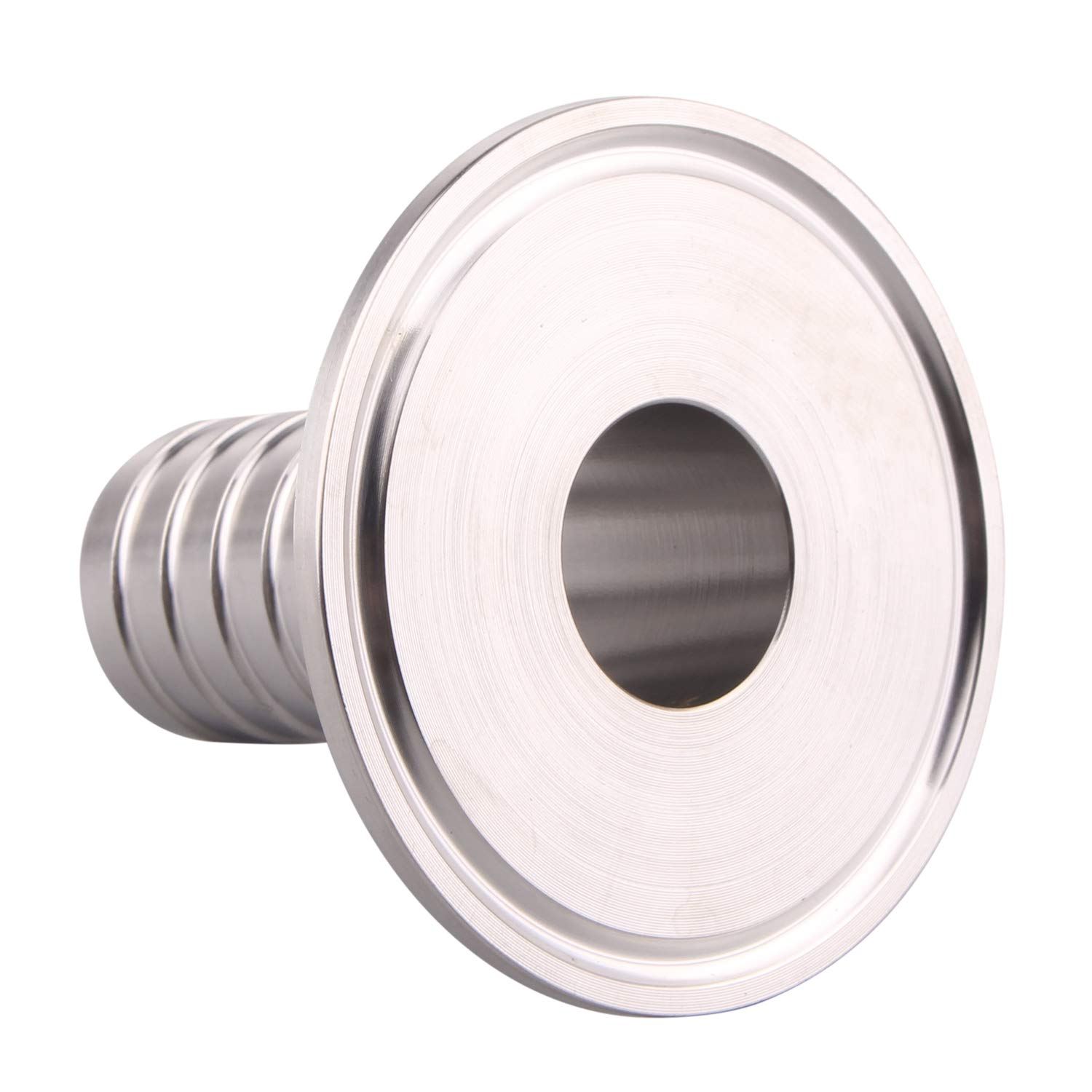 Hose Barb Fittings,2 Tri Clamp to 5//8 Hose Barbed Adapter SUS304 Sanitary Hose Pipe Fitting, Barb Hose Adapter