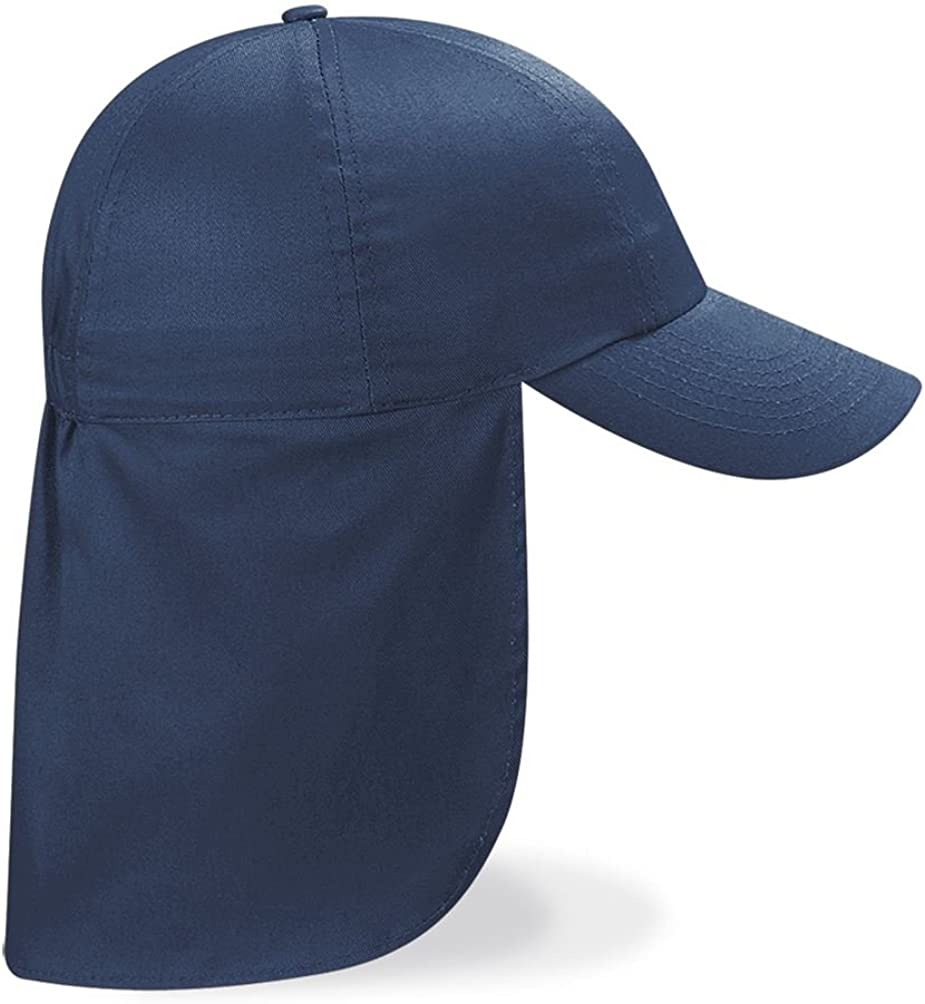 ROYAL BLUE CHILDRENS LEGIONNAIRE HAT CAP 100/% COTTON 9 COLOURS