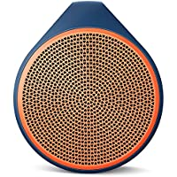 Logitech X100 Mobile Wireless Speaker - Orange(Certified Refurbished)
