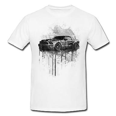 Ford Mustang T Shirt Frauen Madchen Mit Stylischen Motiv Von Paul