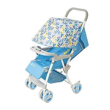 YXINY cochecito de bebé con ruedas de aire frío y transpirable, paraguas portátil ultraligero para