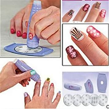 Amazon Mlm Nail Art Stamping Kit As Seen On Tv Body Care