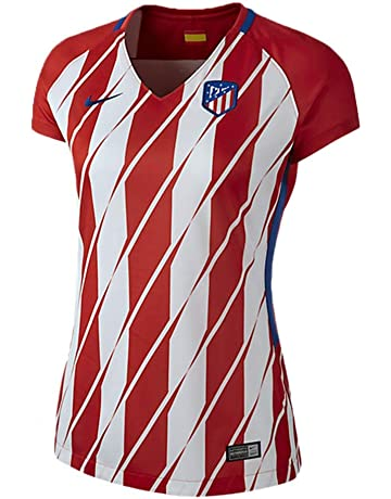 2017-2018 Atletico Madrid Home Nike Ladies Shirt 712aee6f2530d