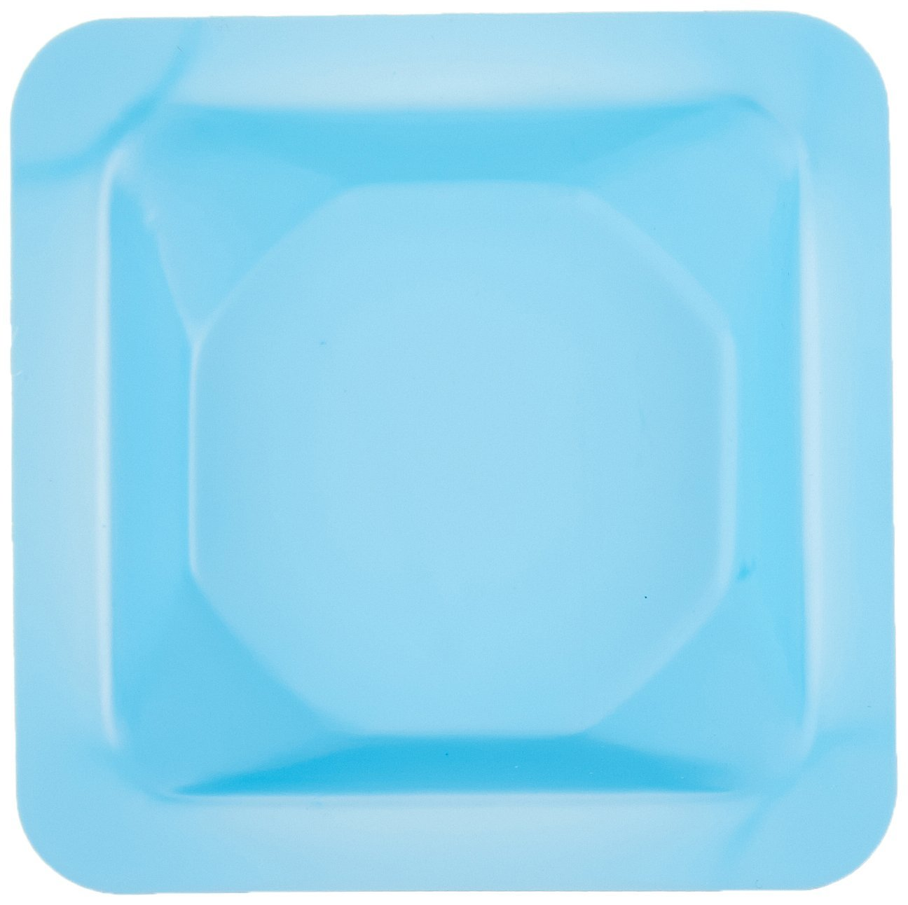 Heathrow Scientific HS120222 Weigh Boat, Anti-Static, Square, Small, Blue (Pack of 500) by Heathrow Scientific (Image #2)