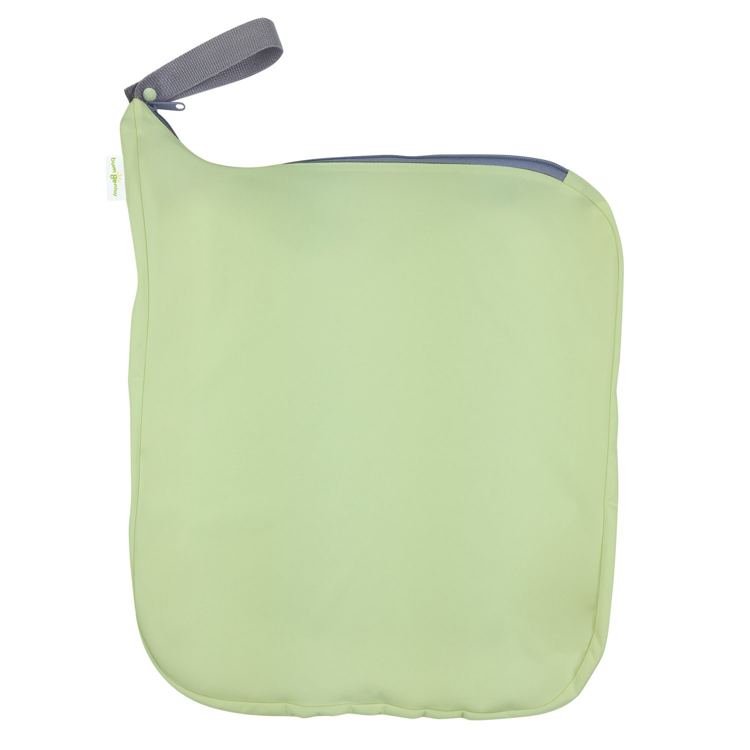 bumGenius Weekender Wet Bag - Holds 6 to 10 Diapers (Grasshopper) by bumGenius