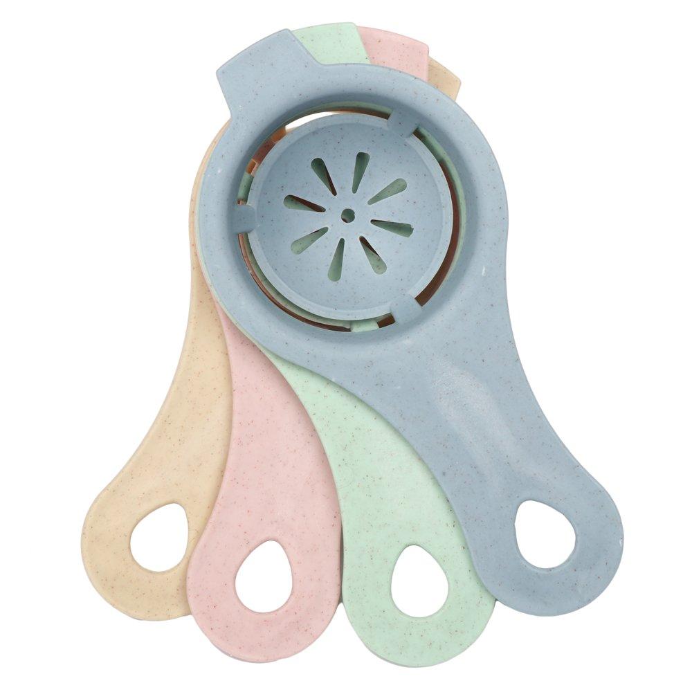 Fani Egg Separator Egg White Yolk Filter Separator for Cooking Kitchen Gadget(4 Colors,Pack of 4) Henan Pasi E-commerce Co. Ltd