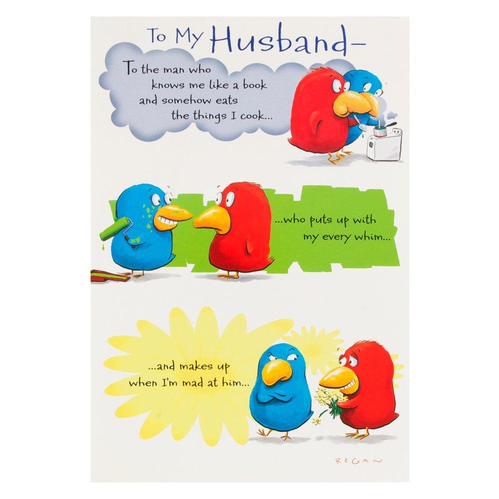 Birthday Cards For Husband Amazon