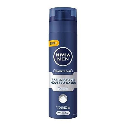 Nivea Men, 6 unidades de afeitar para hombres, 6 x 200 ml Dispensador,