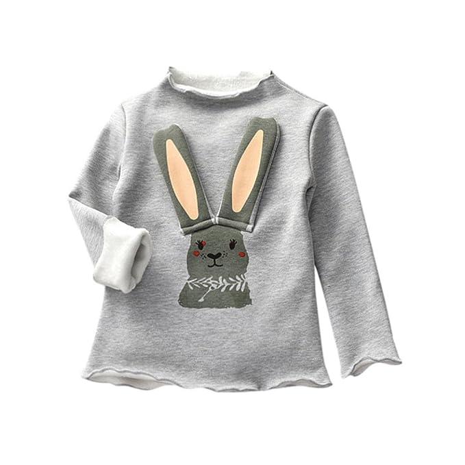 Amazon.com: konfa bebés, niñas, sólido diseño de conejo ...