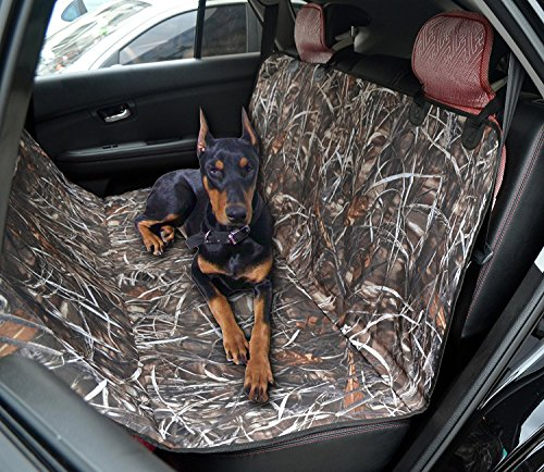 hanhefen Nylon Camouflage Pet car dog Mat Rear Seat Padded Cover Travel Accessories Back Seat Carrier Cover Mat
