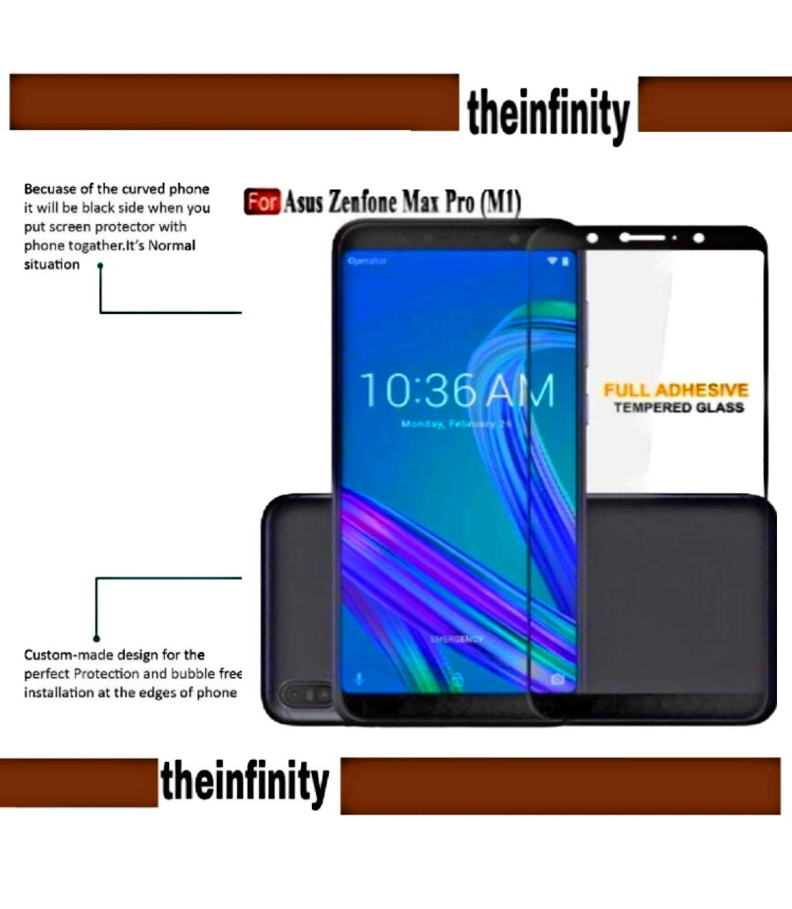 Superdealsfortheinfinity Tempered Glass Screen Electronics Protection For Asus Zenfone 2 55
