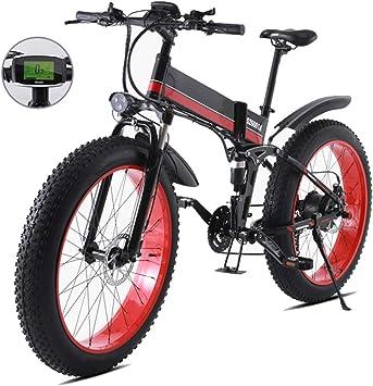 1000W bicicleta eléctrica, 48V para hombre de la montaña E ...
