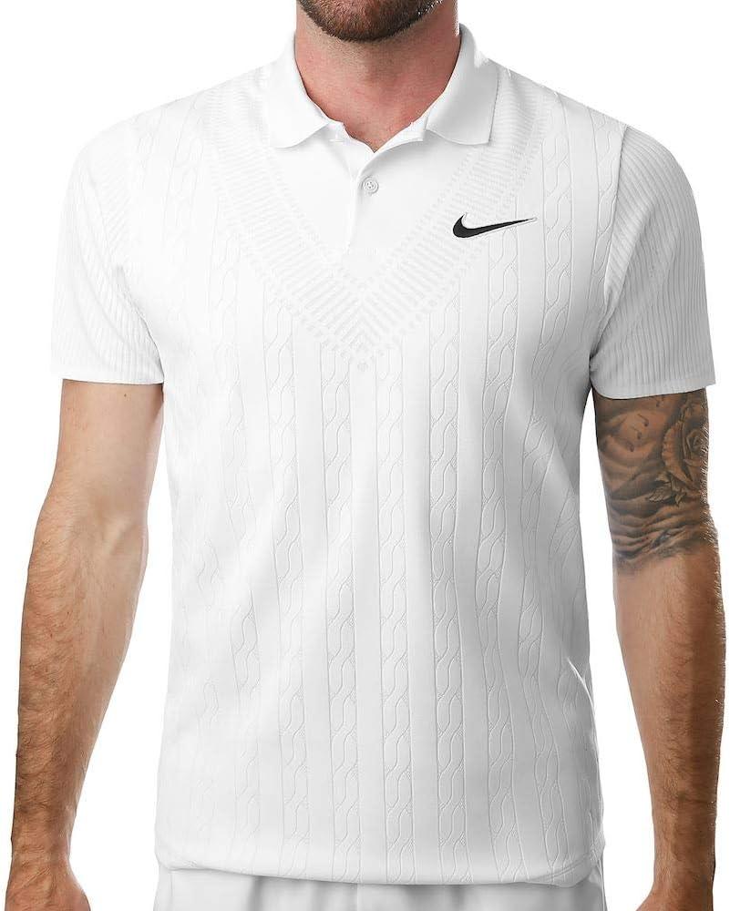 Desconocido Nike M Nkct ADV Polo Ln Nt, Hombre, White/Black, M ...