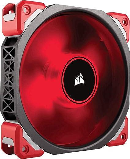 Corsair Ml120 Pro Led Pc Gehäuselüfter Rot Computer Zubehör