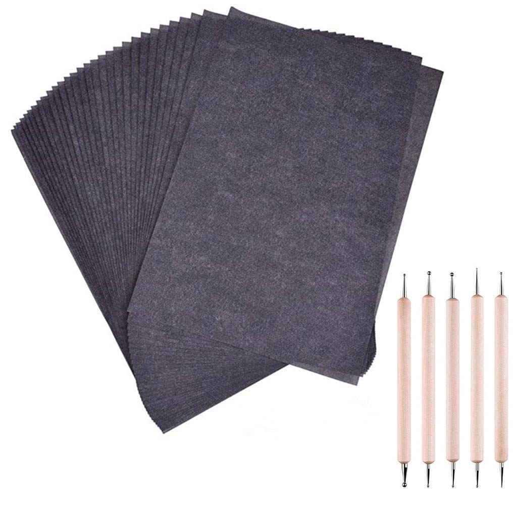Transfer Paper Carbon Paper,100 Sheets Black Carbon