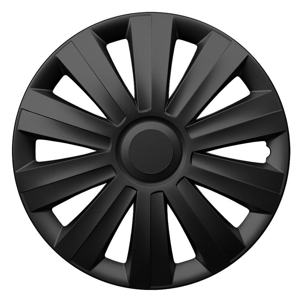 16 Zoll Radzierblenden SNAKE BLACK Schwarz Radkappen passend f/ür fast alle FORD wie z.B Focus 2 C307