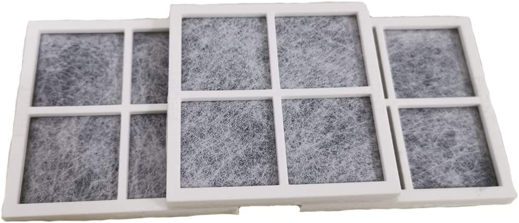 Pack of 3 Refrigerator Air Filter, For LG LT120F Kenmore Refrigerator Replaces 469918 ADQ73214404 AP5629741 ADQ73214402 2308805 ADQ73214406 PS3654115