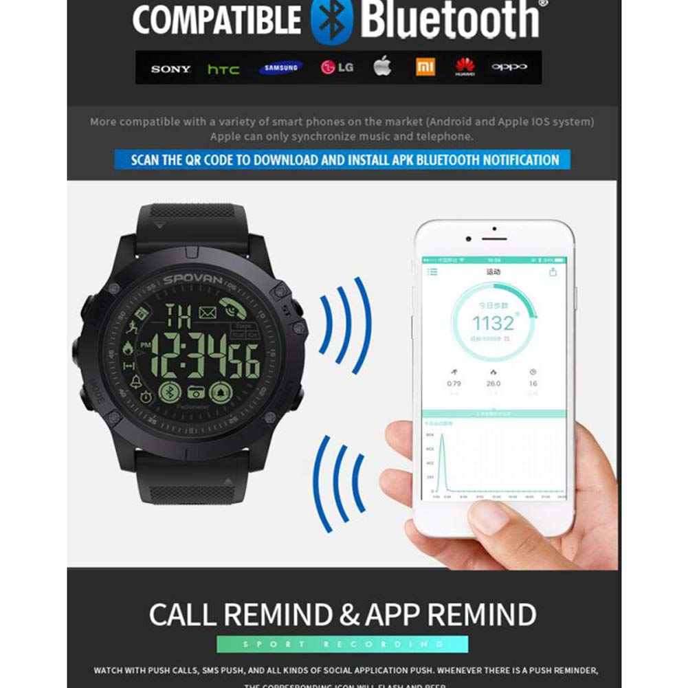 Amazon com: KASIQIWA Smart Watch,Tracker Step Counting