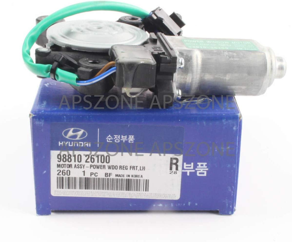 OEM Power Window Motor Front Left for 01-06 Santa Fe OEM 9881026100