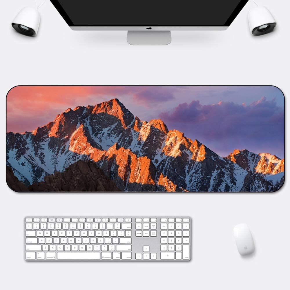 YILONG Large Gaming Mouse Pad Size : 1200x600x5mm 1000x500x5mm I Mouse Mat I Stitched Edges I Extended Mousepad with Special Surface Improves Speed and Precision I Non-Slip Rubber Base
