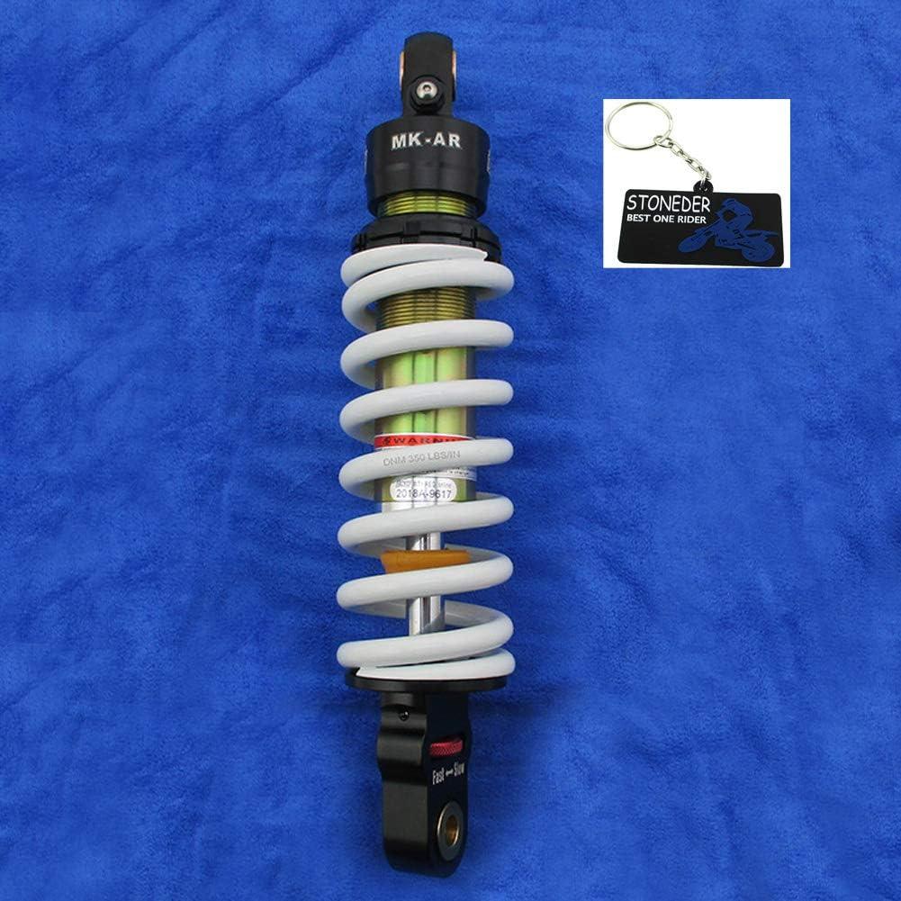 STONEDER DNM MK-AR Amortisseur de Rebond r/églable 275 mm pour KLX110L Pit Dirt Bike