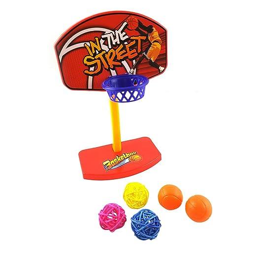 UEETEK - Juego de pelota de baloncesto para pájaros y pájaros con ...