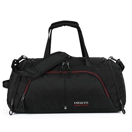 OCCIENTEC Travel Bag 45L Waterproof Crossbody Handbag Black  Amazon ... b7e59b08cb